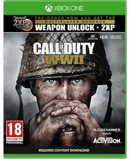 Portada De Call Of Duty Wwii Menciona Soporte Para Xbox One X Levelup