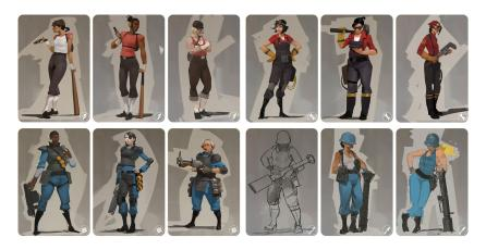 Valve en algún momento pensó en añadir mujeres a <em>Team Fortress 2</em>