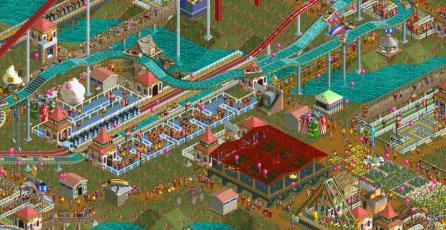 <em>RollerCoaster Tycoon Classic</em> llegará mañana a Steam