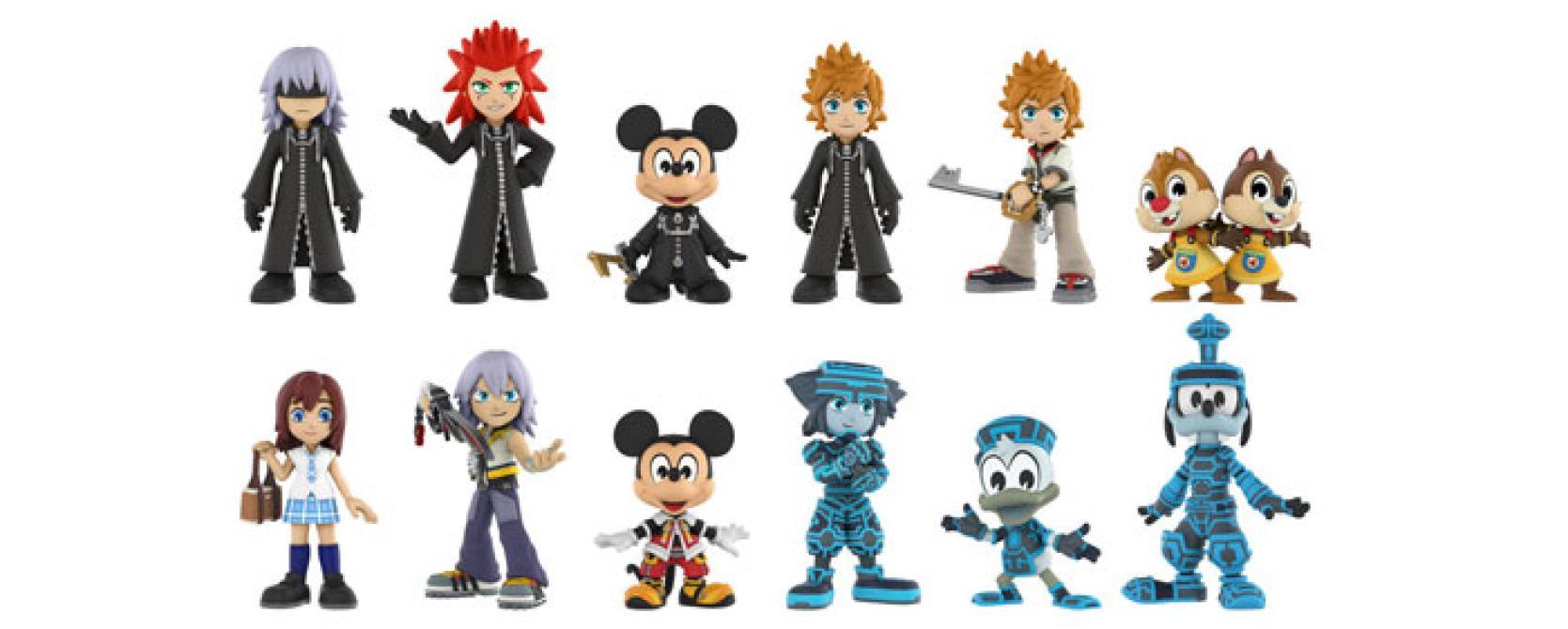 Nuevos Funko Pop! y Mystery Minis de <em>Kingdom Hearts</em>