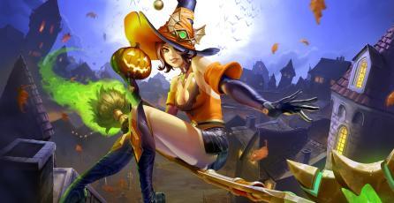 <em>Paladins</em> se adelanta y celebra Halloween en el parche OB60