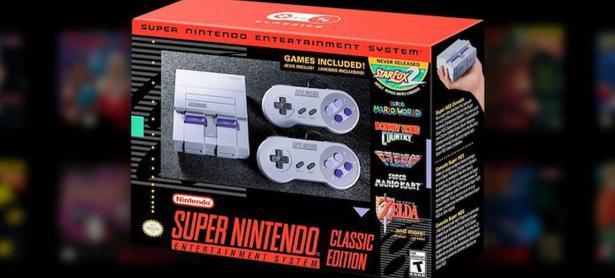 SNES Classic Edition se agotó en todas las tiendas GameStop en Estados Unidos