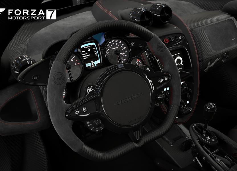 Los detalles del interior de los autos en Forzavista es increíble