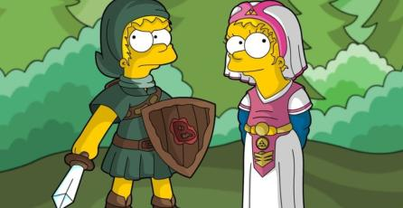 <em>Los Simpson</em> hacen un guiño a <em>The Legend of Zelda</em> en debut de nueva temporada