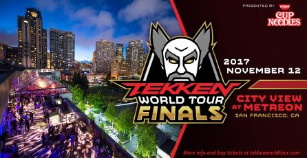 Llegan las finales de 'TEKKEN World Tour' en San Francisco, California