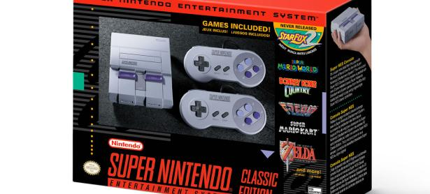 Amazon no ha completado todas las preórdenes de SNES Classic Edition