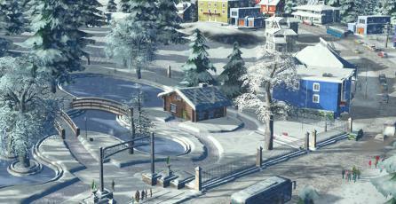Expansión <em>Snowfall</em> de <em>Cities: Skylines</em> llegará a consolas