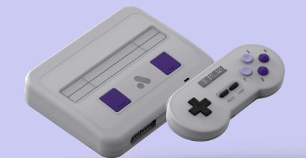 La Super NT es una reproducción moderna de la Super Nintendo