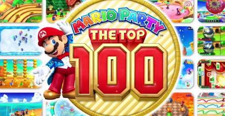 <em>Mario Party: The Top 100</em> tendrá 3 modos de juego y soporte para amiibo