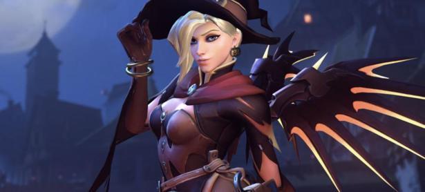 El más reciente parche de <em>Overwatch</em> agrega cambios a Mercy