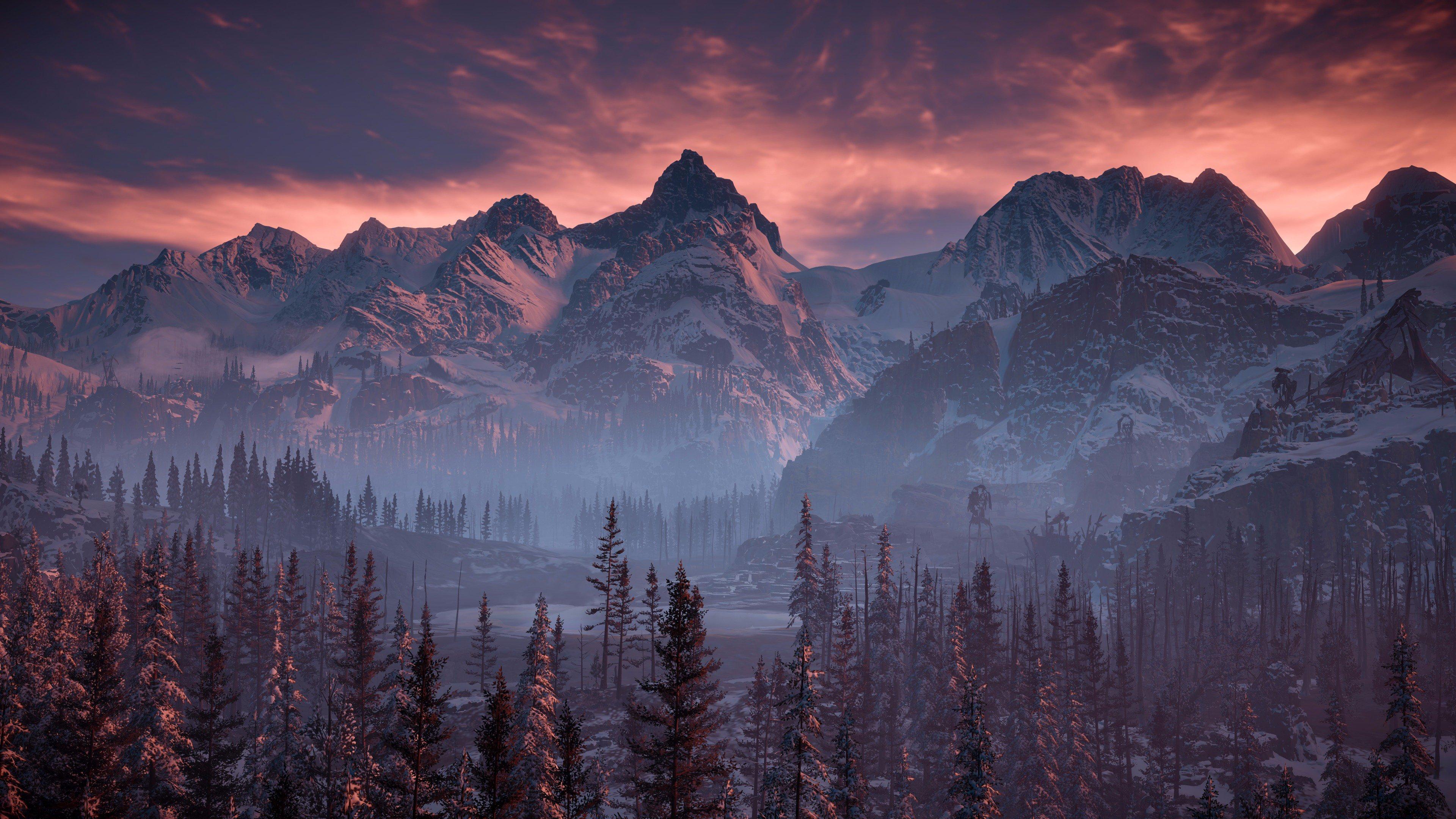 Así Luce The Frozen Wilds De Horizon Zero Dawn En 4k Levelup