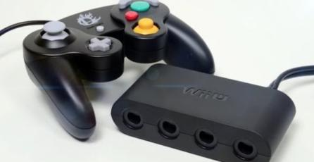 Adaptador para controles de GameCube ahora funciona en Switch