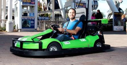Construirán una pista real inspirada en <em>Mario Kart</em>