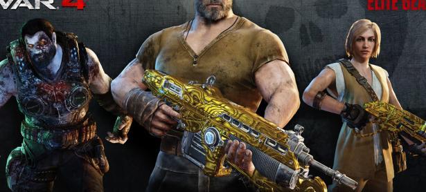 Lanzarán réplica de tamaño real de la Lancer dorada de <em>Gears of War 4</em>