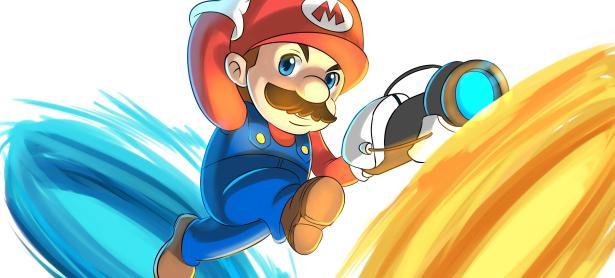 Esto pasa cuando mezclas <em>Portal</em> con <em>Super Mario 64</em>