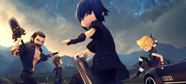 Checa el nuevo trailer de <em>Final Fantasy XV: Pocket Edition </em>