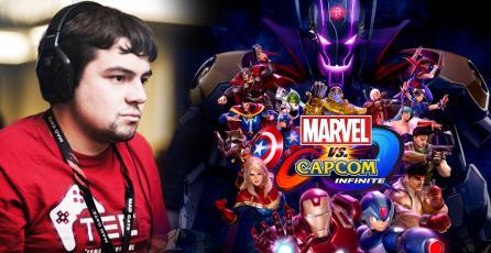 KaneBlueRiver será parte del torneo Battle for the Stones de <em>Marvel vs. Capcom: Infinite</em>