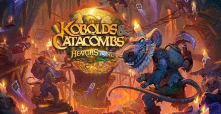 <em>Kóbolds y Catacumbas</em> de Hearthstone podría estar disponible durante la primera semana de diciembre.