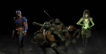 DLC de Injustice 2 tendrá la participación de Las Tortugas Ninjas