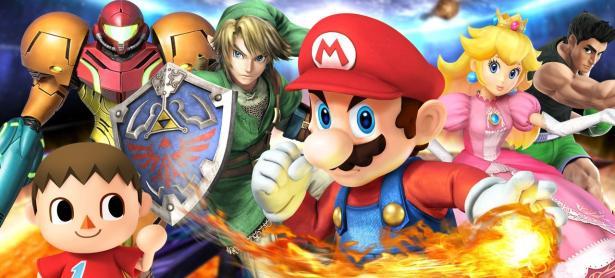 Nintendo registra marcas de <em>Super Smash Bros.</em> en Japón