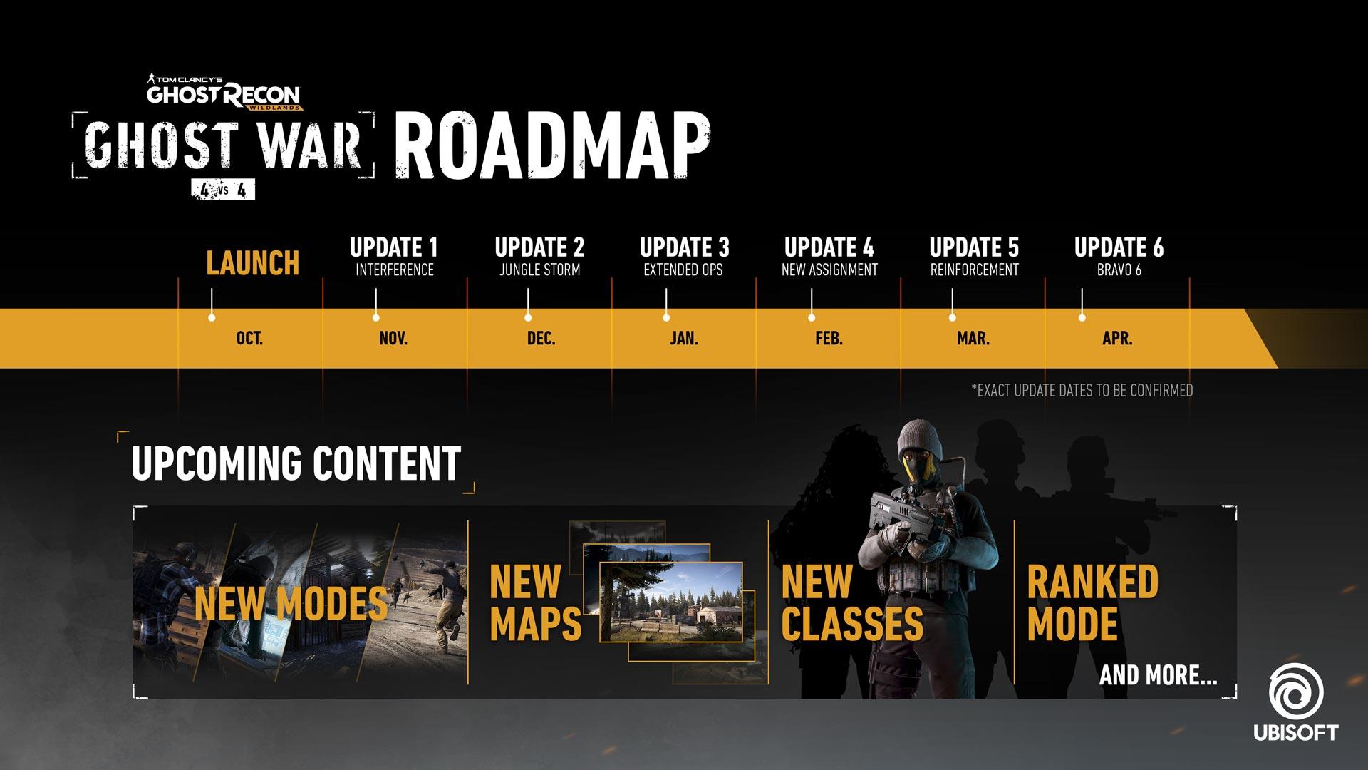 Calendario Ubisoft.Ubisoft Revelo Calendario De Updates Para Ghost Recon