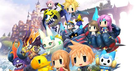 Anuncian <em>World of Final Fantasy: Meli-Melo</em> para iOS y Android