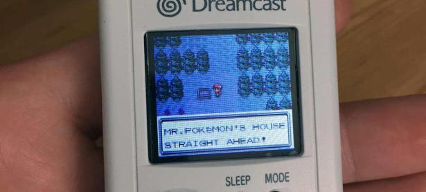 Modifican VMU de Dreamcast para correr <em>Pokémon Gold & Silver</em>