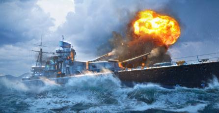 Juego de estrategia <em>World of Warships</em> llega gratis a Steam