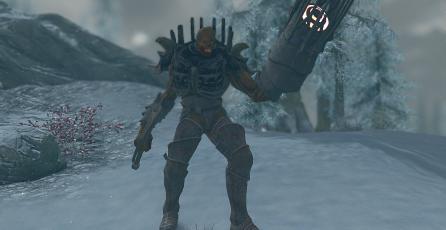 Mod de <em>Skyrim</em> te permite añadir a Nemesis de <em>Resident Evil</em>
