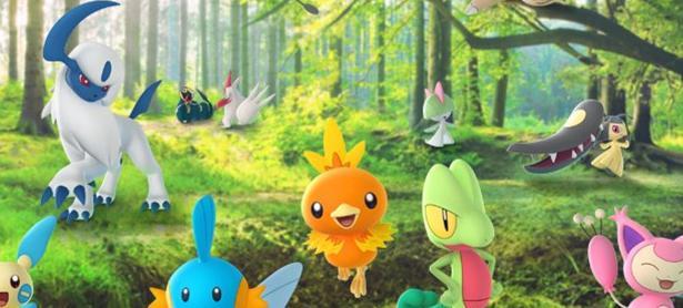 Más criaturas de Hoenn están en camino a <em>Pokémon GO</em>