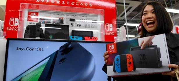 Nintendo Switch terminará el año con 3 millones de consolas vendidas en Japón