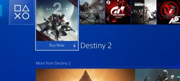 Publicidad de <em>Destiny 2</em> está apareciendo en las PS4 de todos