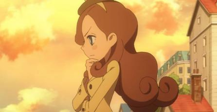 Katrielle protagonizará el anime de <em>Professor Layton</em>