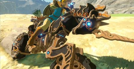 Moto de <em>Zelda: Breath of the Wild</em> está basada en <em>Mario Kart 8</em>