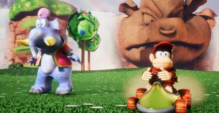 Así se ve <em>Diddy Kong Racing</em> recreado en Unreal Engine 4