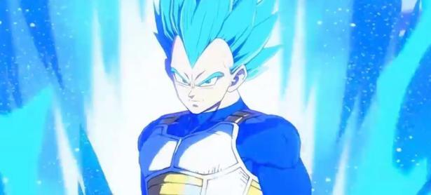 Así peleará Vegeta Super Saiyajin Azul en <em>Dragon Ball FighterZ</em>