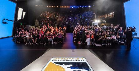 La jornada inaugural de <em>Overwatch League</em> supera los 400 mil espectadores