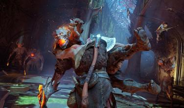 Hacha de Kratos revolucionará las batallas de <em>God of War</em>