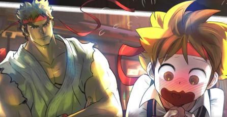 Sakura quiere tener los hijos de Ryu en el modo de historia de <em>Street Fighter V</em>