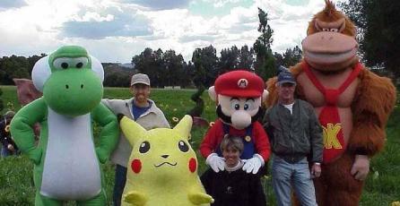 Revelan imágenes de la producción del comercial de <em>Super Smash Bros.</em> para Nintendo 64