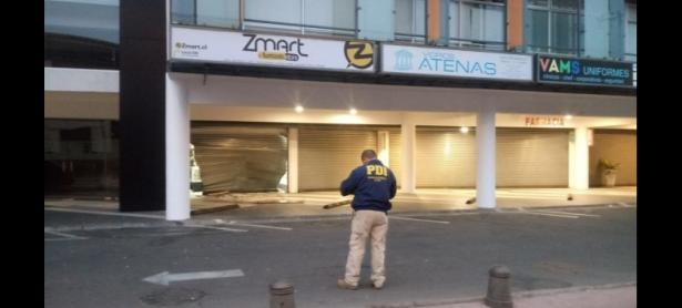 Alunizaje en tienda de videojuegos de La Serena terminó en robo millonario