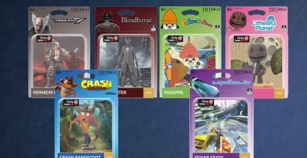 """Llegan los """"Amiibos"""" a PlayStation como figuras de colección"""