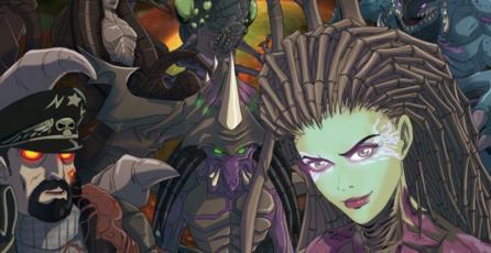 Así lucirían las ilustraciones de un animé de <em>StarCraft II</em>