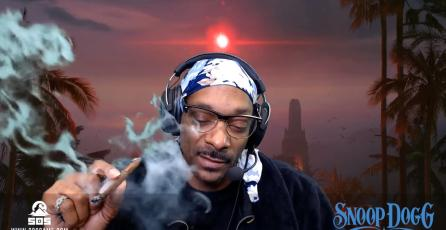 Snoop Dogg fuma marihuana en vivo en Twitch sin repercursiones