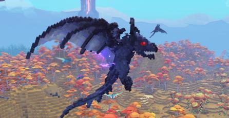 Este juego busca combinar lo mejor de <em>ARK</em> y <em>Minecraft</em>