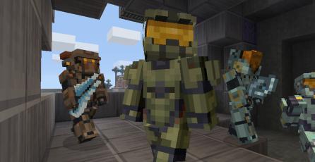 Ya puedes jugar como el Master Chief en <em>Minecraft</em> para Switch