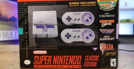 ¡SNES Classic Edition ya vendió 4 millones de unidades!