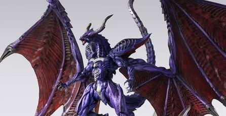 Checa esta increíble figura de Bahamut de <em>Final Fantasy VIII</em>