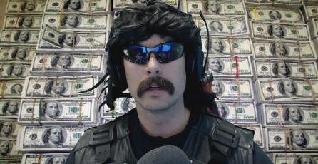 Dr. DisRespect supera a Tyler1 en espectadores simultáneos y le donan hasta 5000 dolares en Twitch
