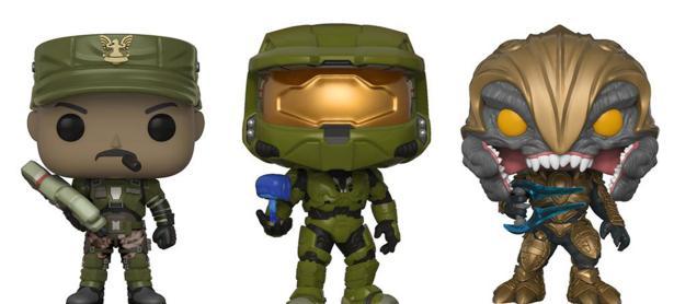 Revelan nueva línea Funko Pop! de <em>Halo</em>